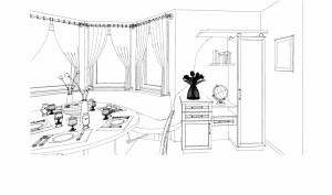 Eßzimmer Sk 01