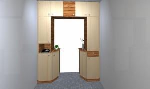 Vorzimmer-Durchgang